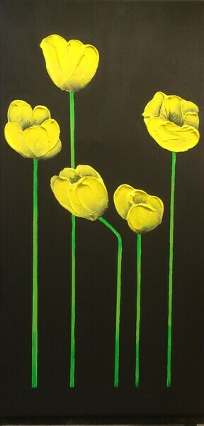Tall Yellow Tulips